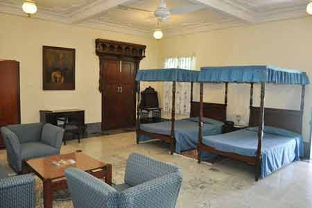 Rooms at Nilambagh Palace Hotel in Bhavnagar