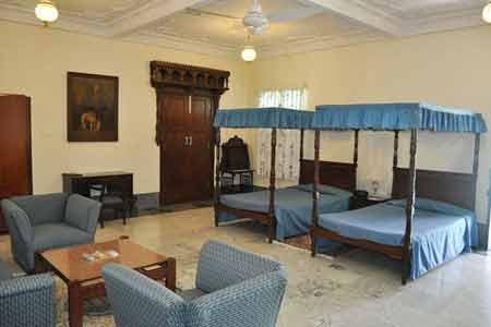 Rooms at Nilambagh Palace Hotel in Bhavnagar