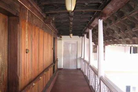 Lobby at Tharakan Heritage Resort, Alleppey