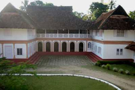 Outside View of Tharakan Heritage Resort, Alleppey