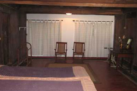 Living Area at Tharakan Heritage Resort, Alleppey