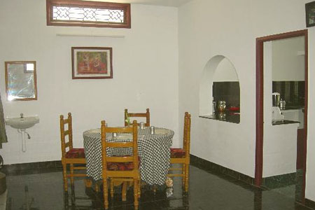 Dining Area at Friends House, Pondicherry