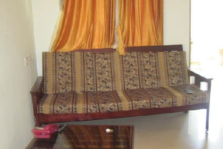 Sitting Area at Friends House in Pondicherry