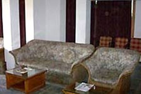 Living area at Hotel Snow View Retreat, Uttarakhand