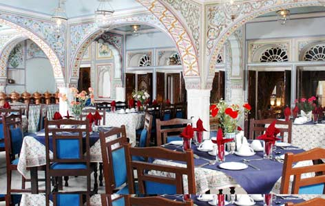 Dining of Castle Mandawa Hotel