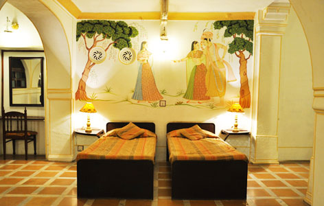 Room at Roopangarh Fort
