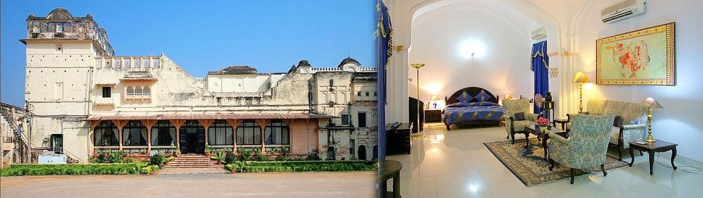 Sheesh Mahal heritage hotel in Madhya Pradesh