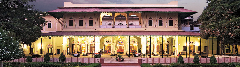front of Castle Kanota Jaipur