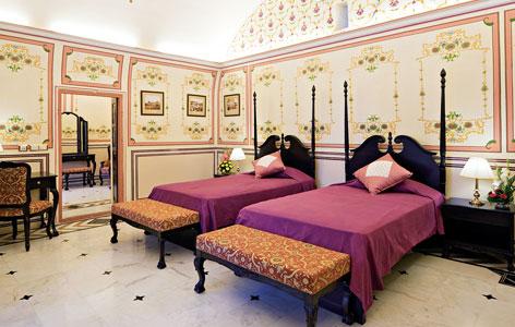 room at Castle Kanota Jaipur
