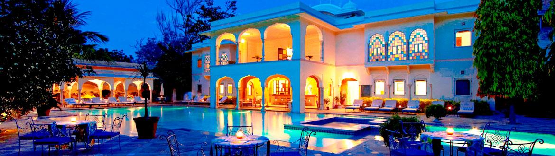 Samode haveli hotel in Jaipur