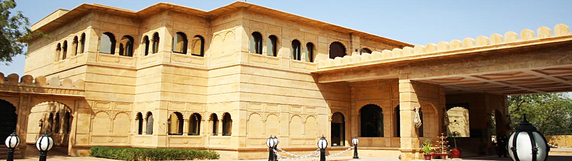 Gorbandh Palace in Jaisalmer