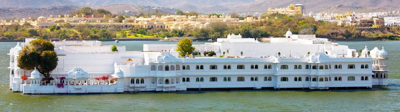 Taj Lake Palace heritage hotel in Udaipur