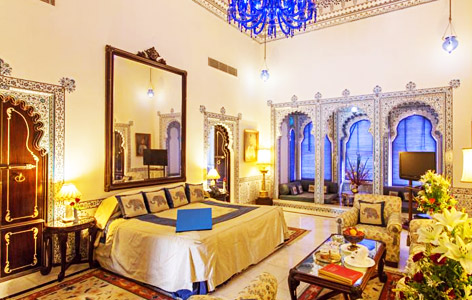 Bedroom of Shiv Niwas Palace