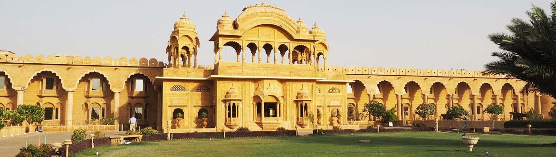 Fort Rajwada heritage hotel in Jaisalmer
