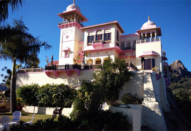 The Jaipur House in Mount Abu