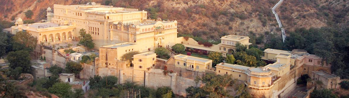 Hotel Samode Palace heritage hotel in Rajasthan
